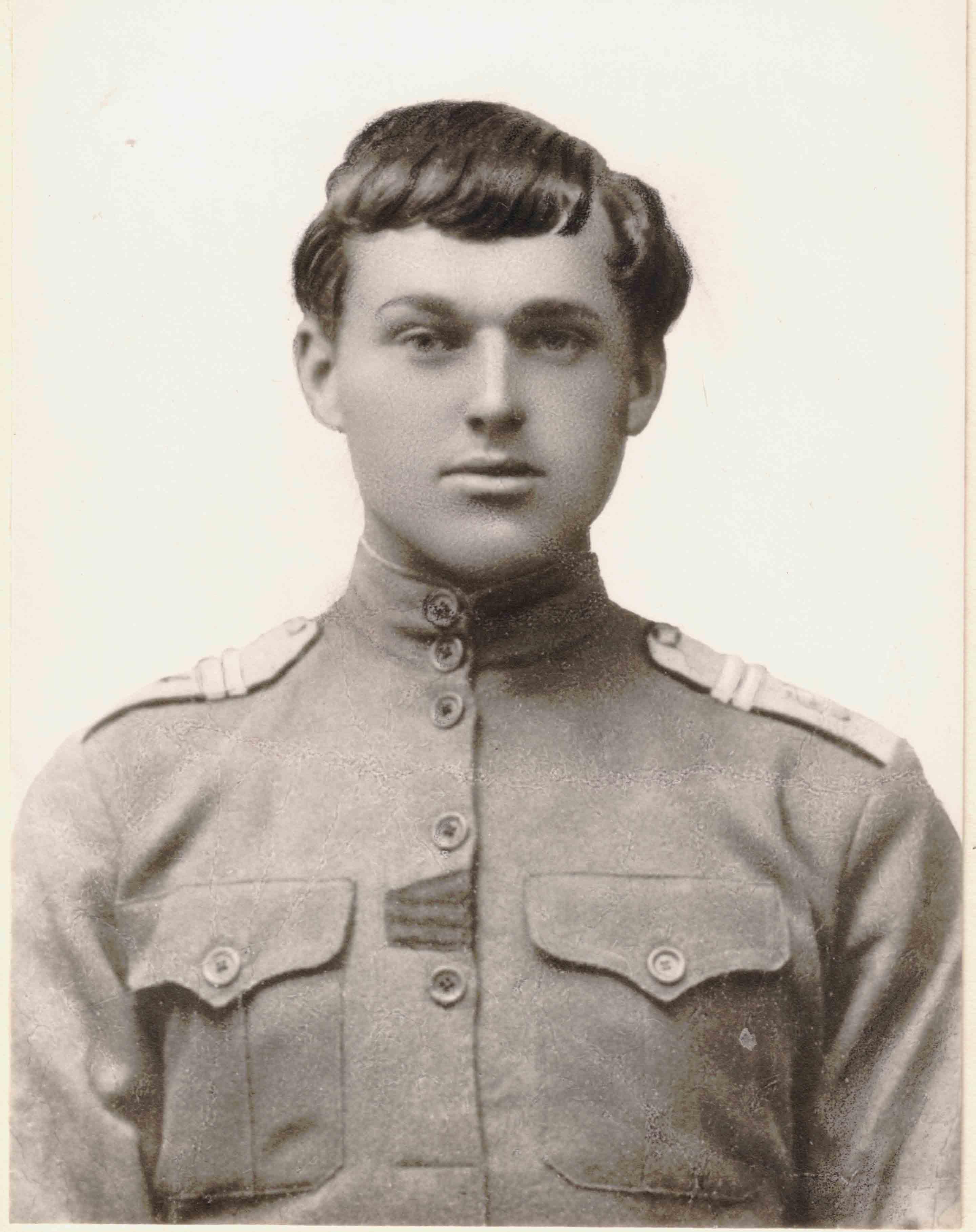 мл. унтер-офицер К.К.Рокоссовский, 1916